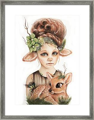 Faline - Only Friend In The World Collection Framed Print