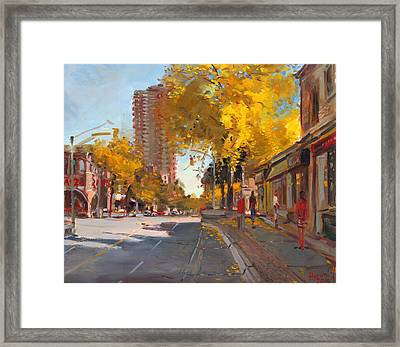 Fall 2010 Canada Framed Print by Ylli Haruni