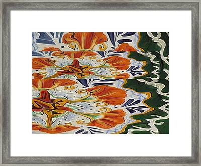 Fall Approaches Framed Print by Florene Welebny