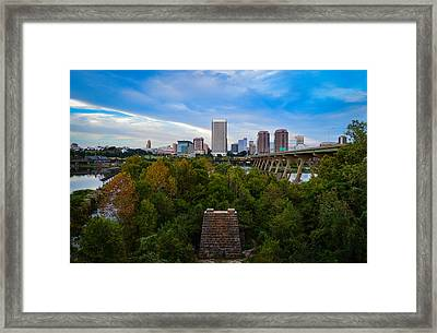 Fall Approaching In Richmond Framed Print