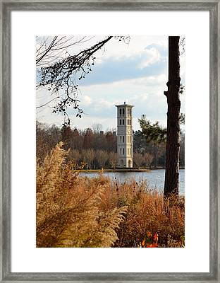 Fall At Furman Framed Print by Corinne Rhode