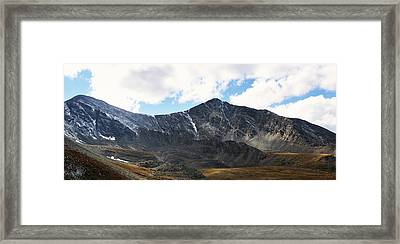 Fall At Grays And Torreys Framed Print