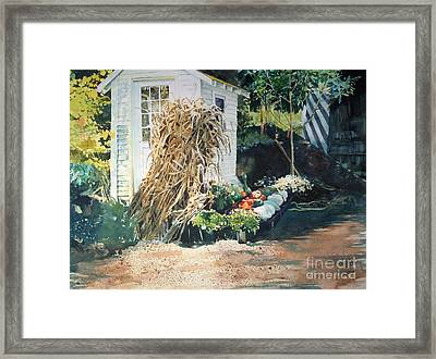 Fall At Ivy Corners Framed Print