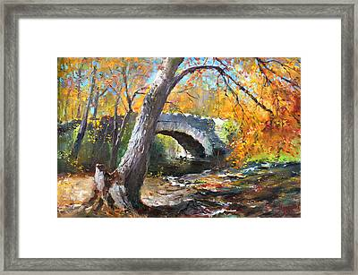 Fall At Three Sisters Islands Framed Print
