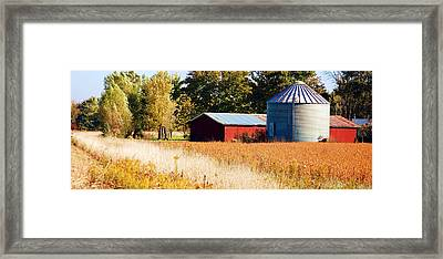 Fall Bin Framed Print by Jame Hayes