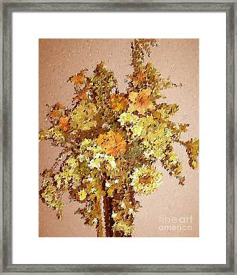 Fall Bouquet Framed Print by Don Phillips