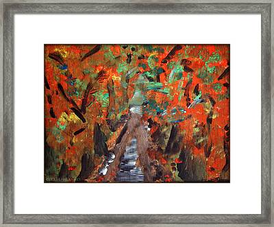 Fall By Colleen Ranney Framed Print