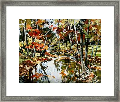Fall Colors 3 Framed Print
