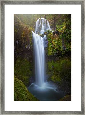 Framed Print featuring the photograph Fall Creek Falls by Darren White