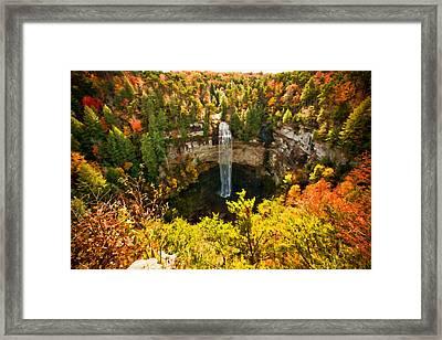 Fall Creek Falls Framed Print
