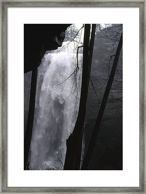 Framed Print featuring the photograph Fall Creek Falls Tn by Lori Miller