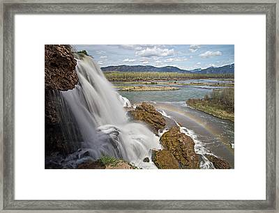Fall Creek Falls Framed Print