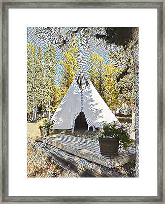 Fall Daze Framed Print