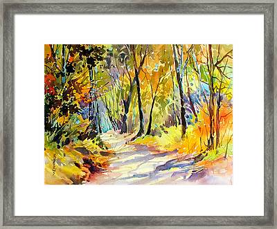 Fall Dazzle, Tennessee Framed Print