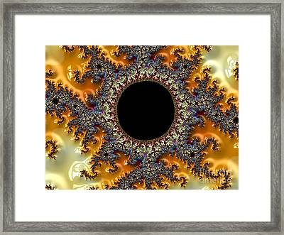 Fall Eclipse  Framed Print by M O'Rourke