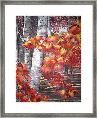 Fall Fantasy Framed Print