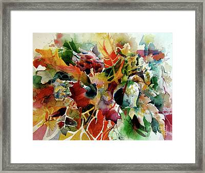 Fall Fashion Statement Framed Print