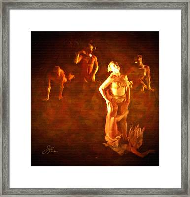 Fall From Grace Framed Print by Joan Reese