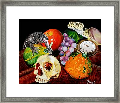 Fall Harvest Framed Print by Ferrel Cordle