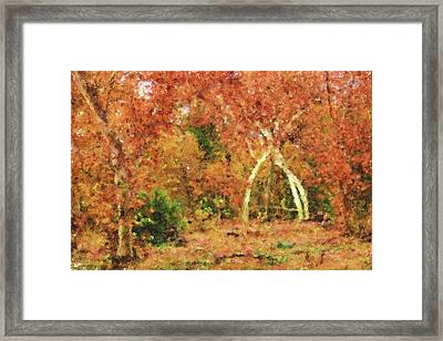 Fall Impression Framed Print