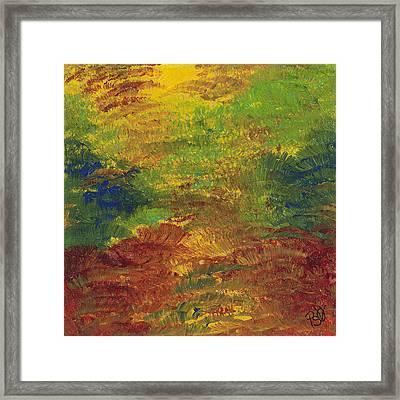 Fall Impressions Framed Print by Patty Vicknair