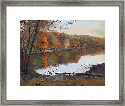 Fall In 7 Lakes Framed Print by Ylli Haruni