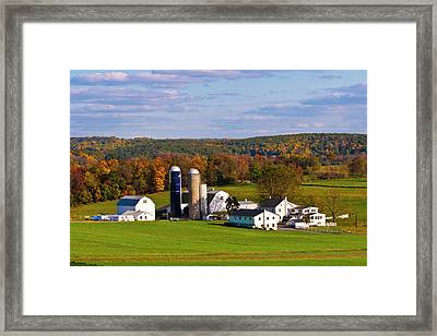 Fall In Amish Country Framed Print