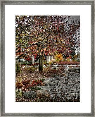 Fall In Barrington Framed Print by David Bearden