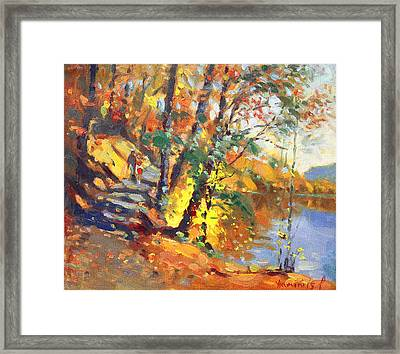 Fall In Bear Mountain Framed Print