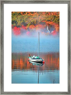 Fall In Eaton New Hampshire Framed Print by Eric Gendron
