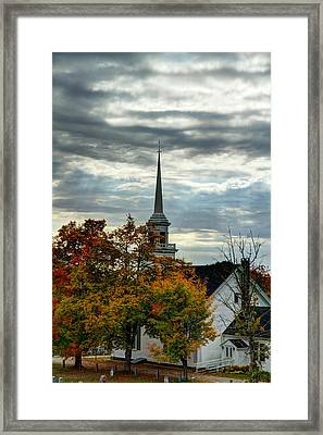 Fall In Lamoine Framed Print