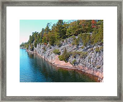 Fall In Muskoka Framed Print