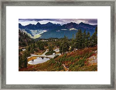 Fall In North Cascades Framed Print
