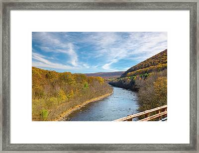 Fall In Pa Framed Print by Jack R Perry