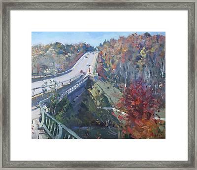 Fall In Silver Creek Georgetown  Framed Print
