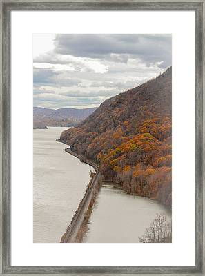 Fall In West Point Framed Print