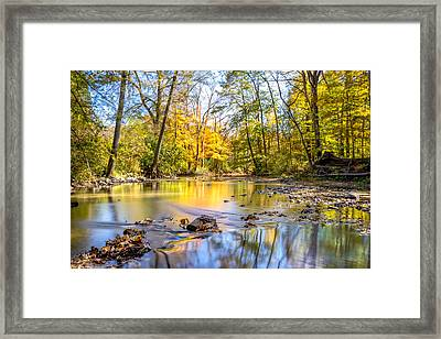 Framed Print featuring the photograph Fall In Wisconsin by Steven Santamour