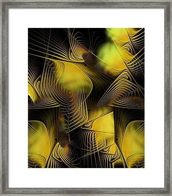 Fall Into Your Dream Framed Print by Gayle Odsather