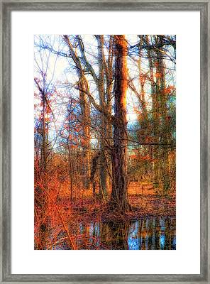 Fall Is Calling Framed Print by Michael Putnam