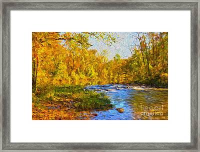 Fall Is Here Framed Print