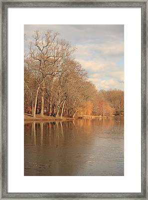 Fall Landscape Framed Print by Boris REYT