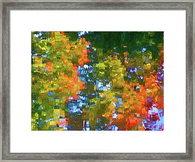 The Ripples Expand Framed Print by Lanjee Chee