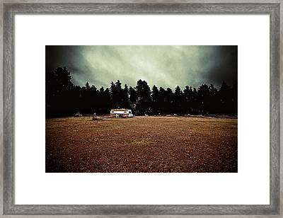 Fall Framed Print by Mounir Rabhi Hallner