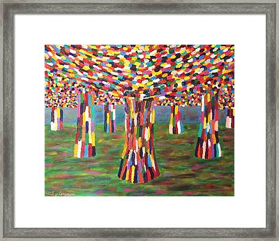 Fall Number Two Framed Print by Ricky Gagnon