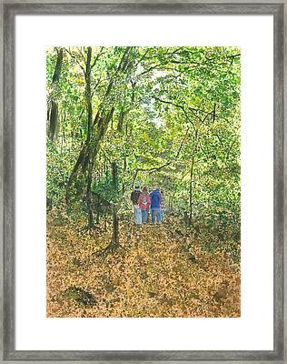 Fall Nymphs - IIi Framed Print