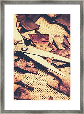 Fall Of Autumn Framed Print by Jorgo Photography - Wall Art Gallery