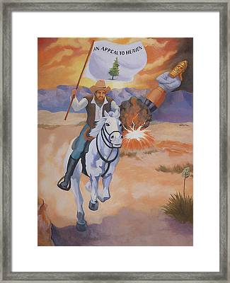 Fall Of Babylon Framed Print