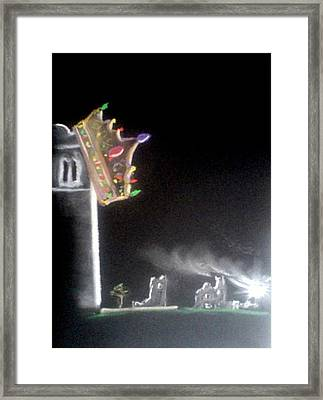 Fall Of The Irish Kings Framed Print