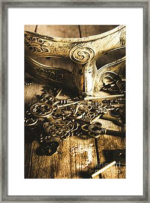 Fall Of The King Framed Print by Jorgo Photography - Wall Art Gallery