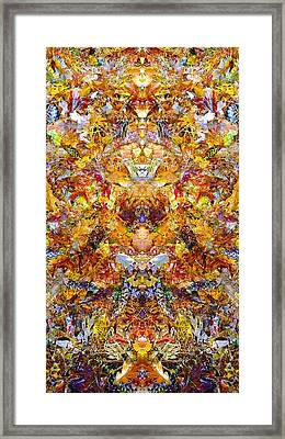 Fall Of The Leaf Gods  Framed Print